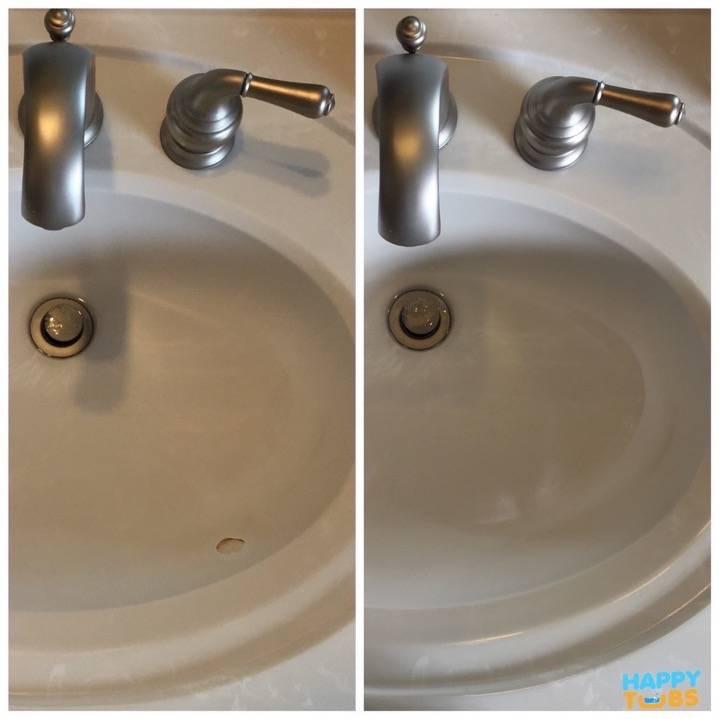 Sink Hole Repair in Plano, TX - Happy Tubs Bathtub Repair
