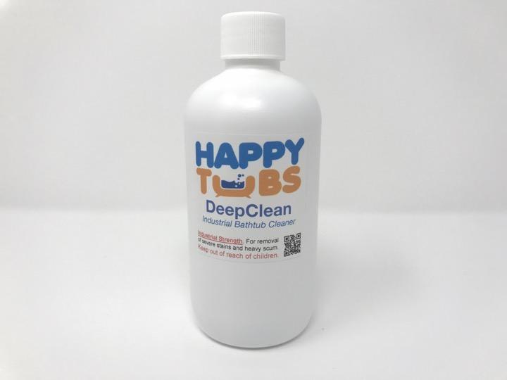 High Quality DeepClean Acrylic Bathtub Cleaner · DeepClean Front LG