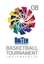 2008 B10 Tournament logo