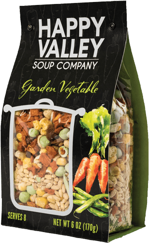Happy Valley Soup Company garden vegetable soup