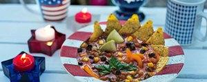 Memorial Day Soup Fiesta Tortilla