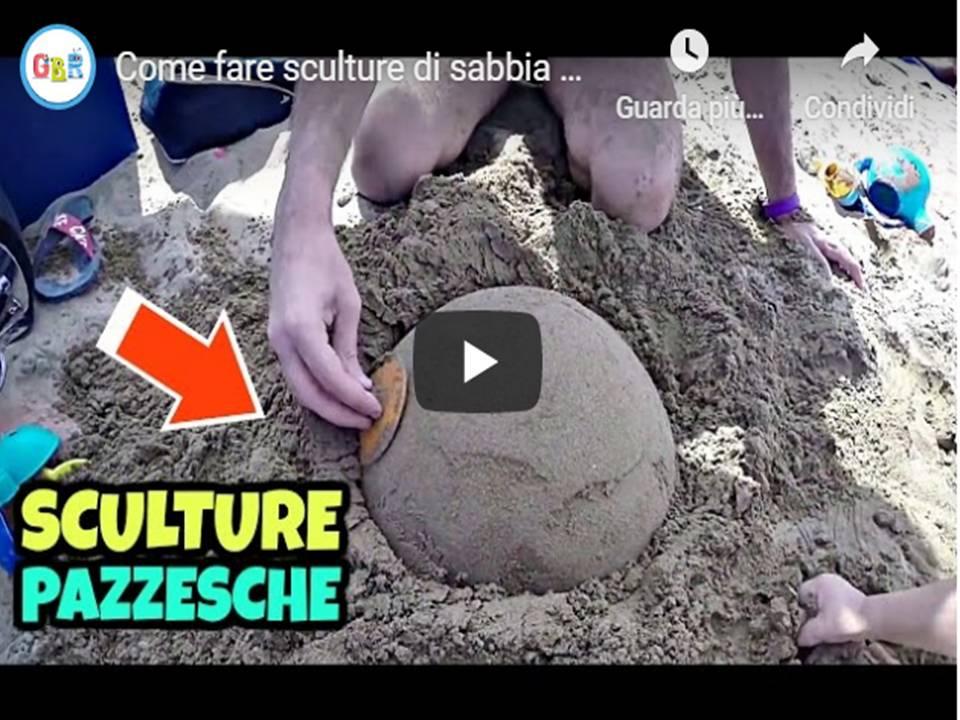 Come fare sculture di sabbia e di neve bellissime in poco tempo
