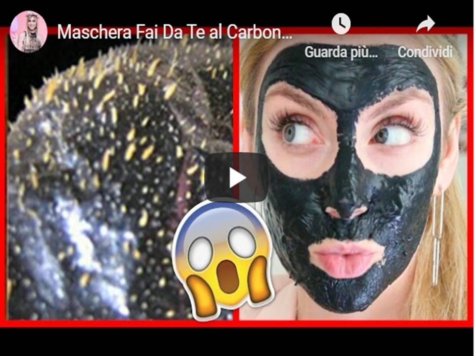 Maschera Fai Da Te al Carbone