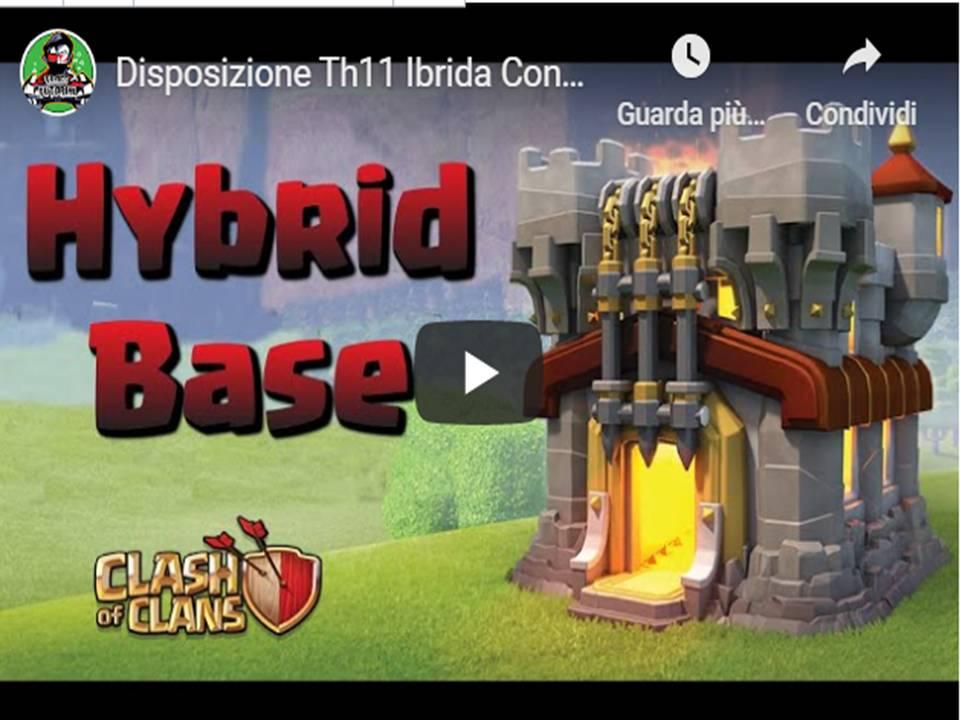 Clash of Clans  – Disposizioni villaggio base  TH11 ibride