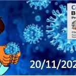 Bollettino Covid-19 i casi in Italia alle ore 18 del 20 novembre