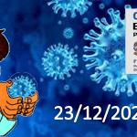 Bollettino Covid-19 i casi in Italia alle ore 18 del 23 dicembre