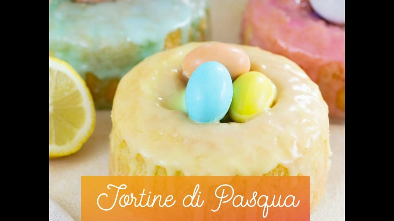 Tortine di Pasqua al limone e vaniglia