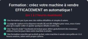 Formation créez votre machine à vendre efficacement en automatique