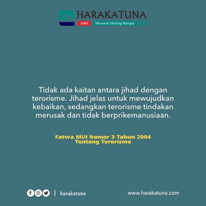 terorisme bukan jihad