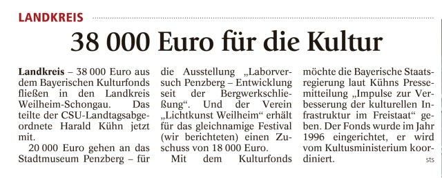 Weilheimer Tagblatt, 17.06.2016