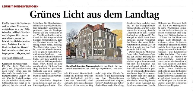 Garmisch-Partenkirchner Tagblatt 4.02.2016