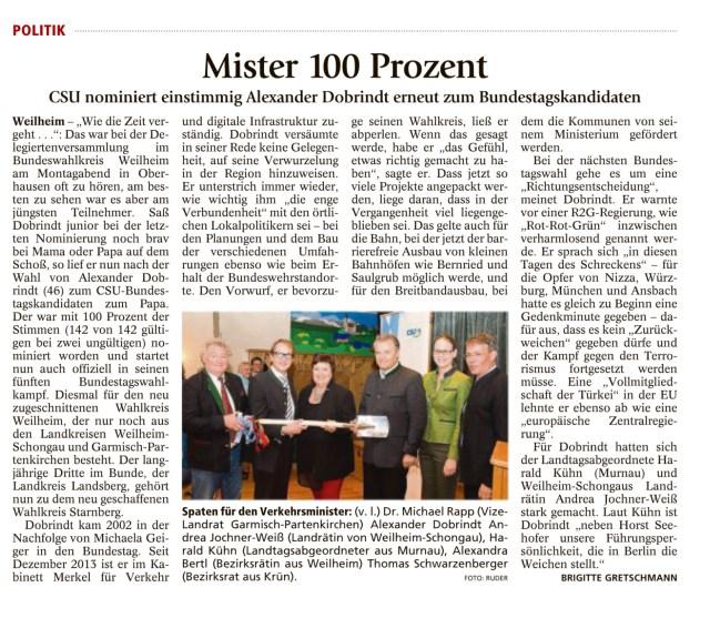 Garmisch-Partenkirchner Tagblatt 27.07.2016