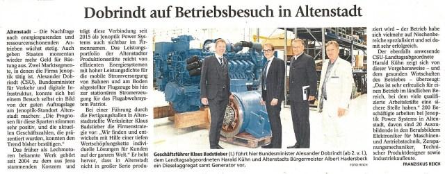 Schongauer Nachrichten 8. Juli 2016