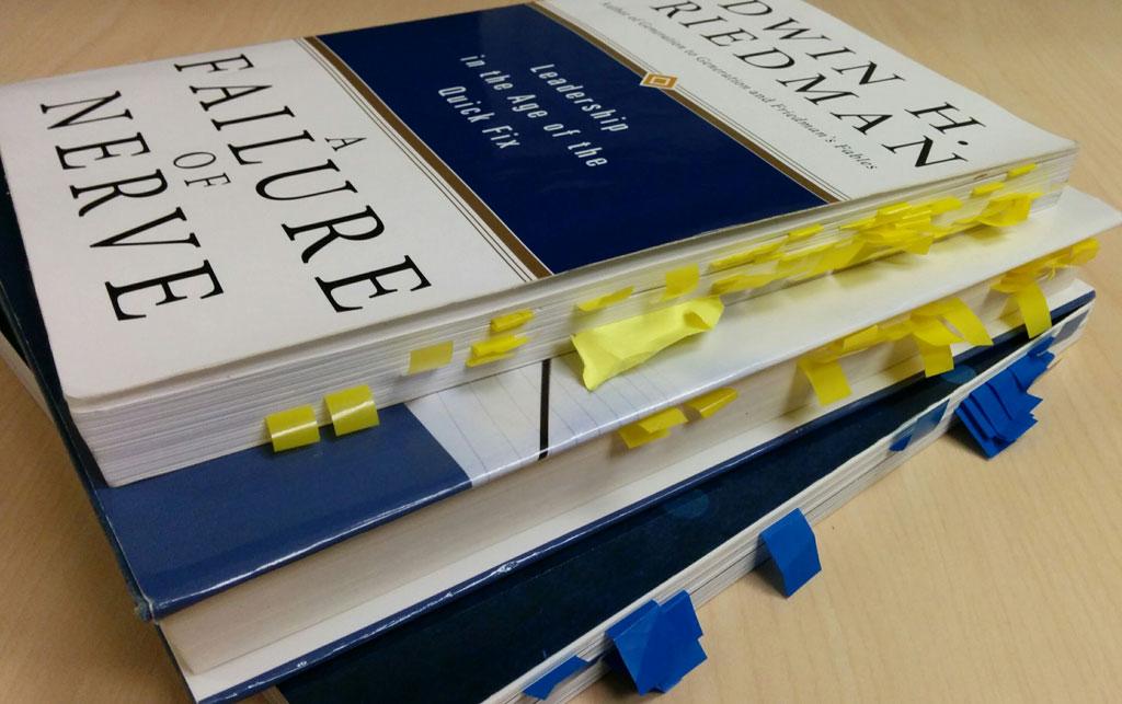 Books & Adhesive Tabs