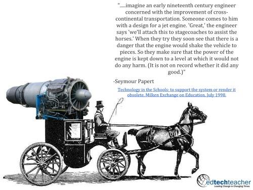 Jet Engine on Horse Cart