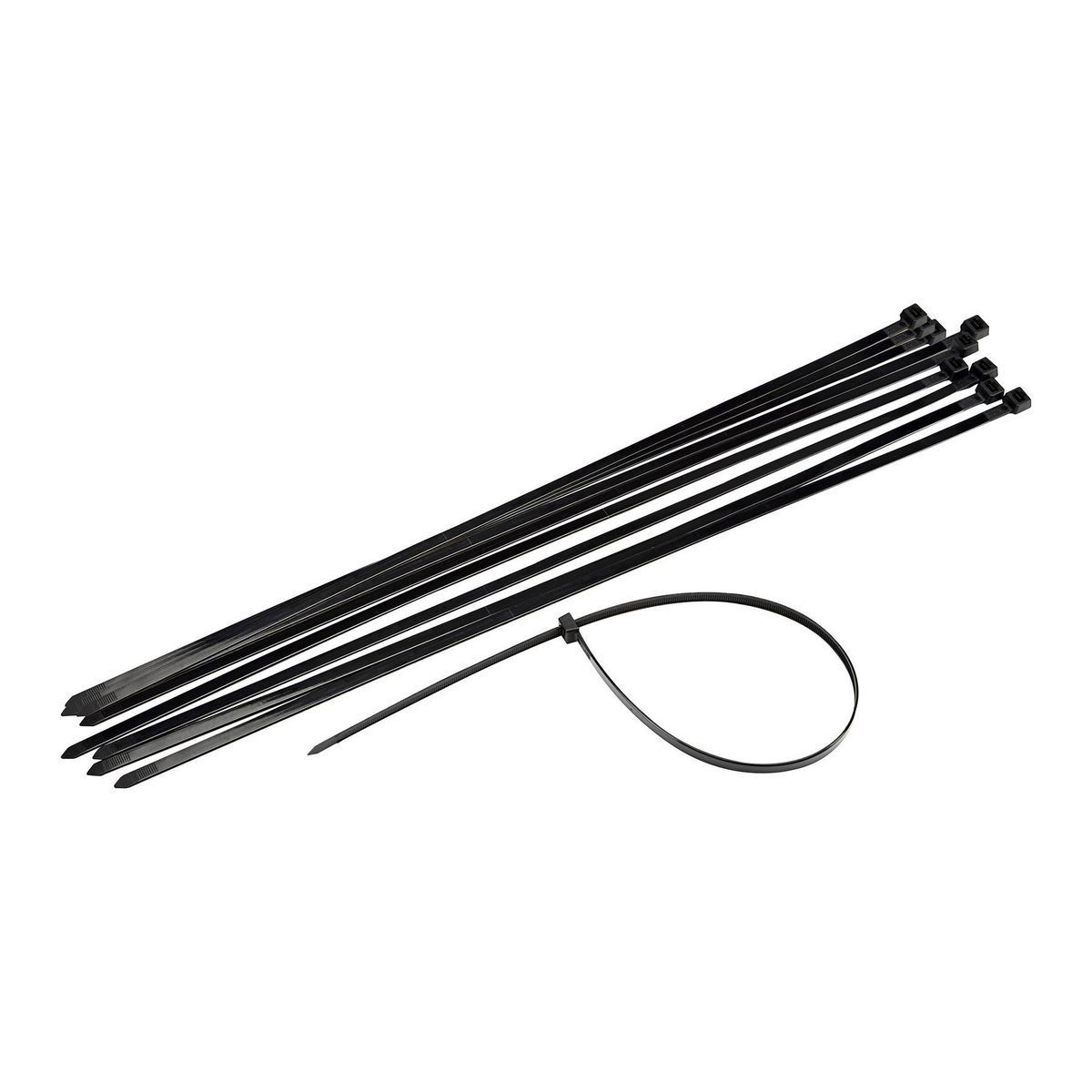 24 In Heavy Duty Cable Ties 10 Pk
