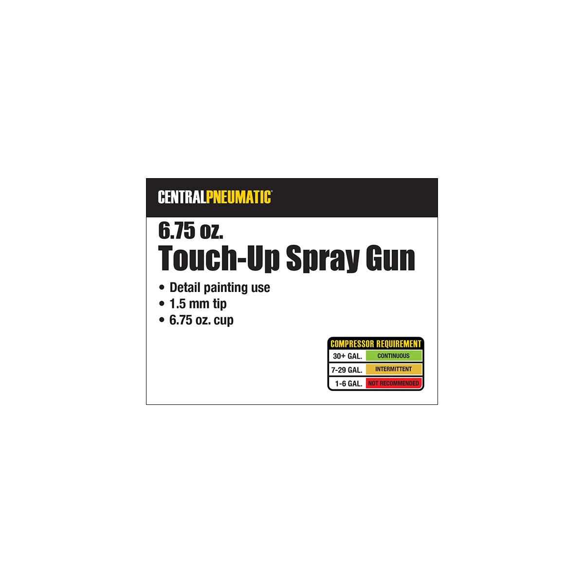 Touch Up Air Spray Gun