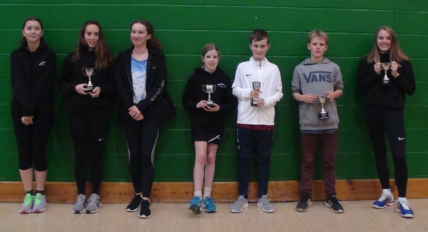 Past Tournament Winners with Trophies