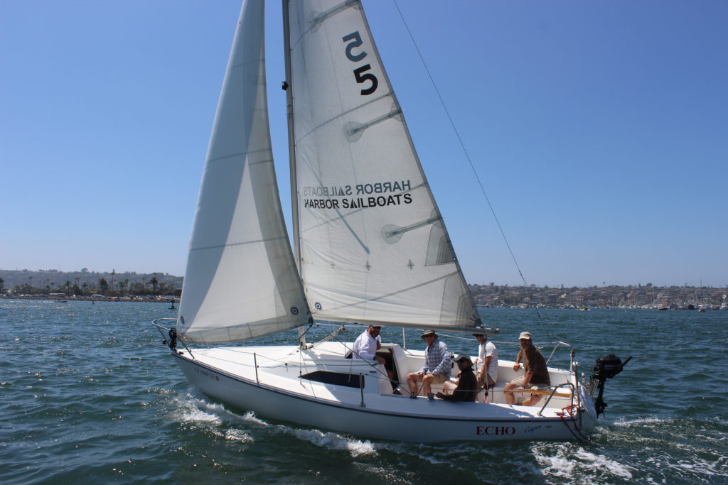 San Diego Sailboat Rentals Bareboat Charters At Harbor