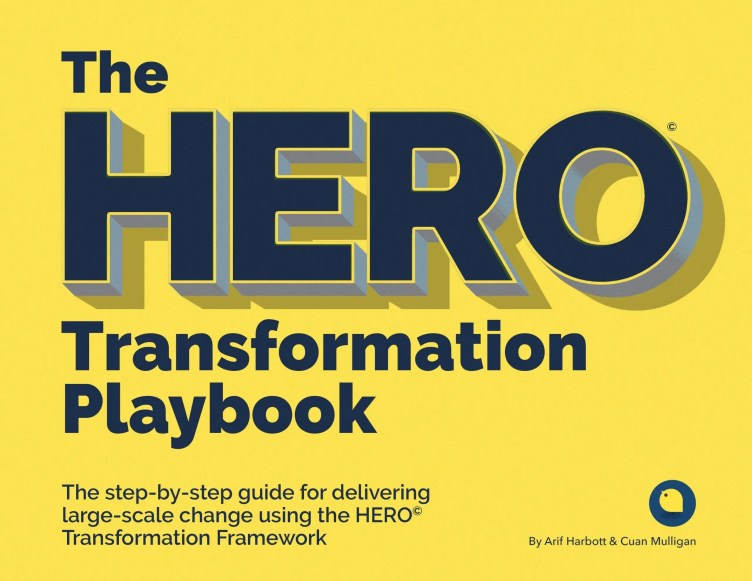 HERO Transformation Playbook Book Cover