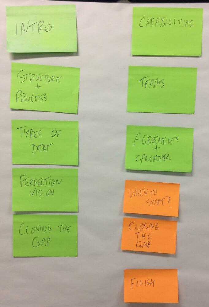 Kick Off Workshop Topics