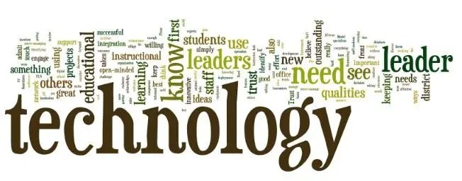 Technology tag cloud