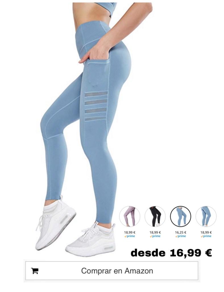 Mallas para Mujer Cintura Alta Pantalones de Yoga Largos de Talle Alto Elásticos Transpirables Leggins Pantalón Deportivo de Mujer para Running Fitness Pilates Entrenamiento Ciclismo