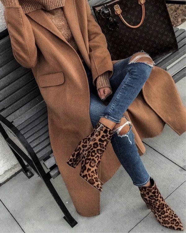 abrigo largo invierno outfit invierno 2020