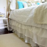 How To Make A No Sew Ruffled Bedskirt Harbour Breeze Home