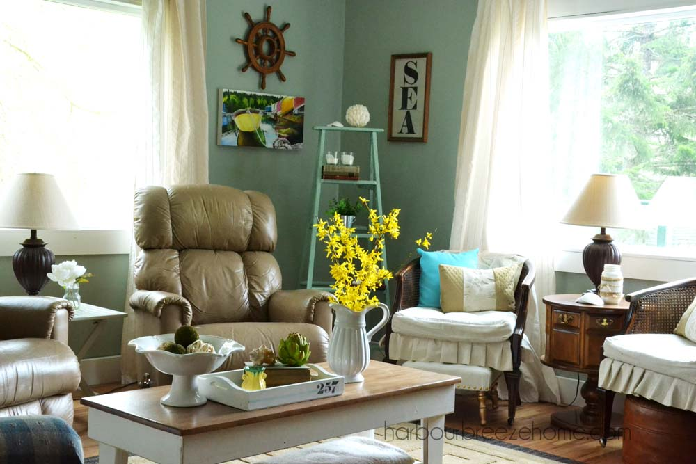 Spring Living Room Reveal Harbour Breeze Home Part 76
