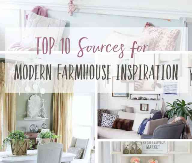 Get A Little Help From Your Friends Top  Sources For Modern Farmhouse Inspiration