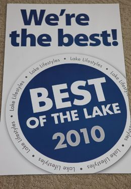 Best of the Lake 2010 Award Badge