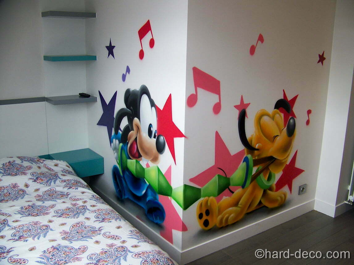 Decoration Mickey Chambre Good Dignovel Studios Imprim