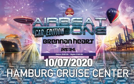 Werbeplakat AirBeat One Car Edition with Brennan Heart