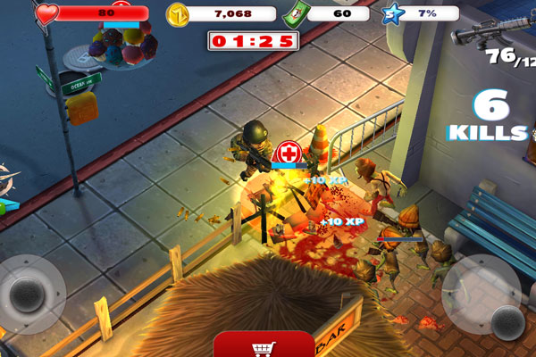 zombiewood-best-free-android-games