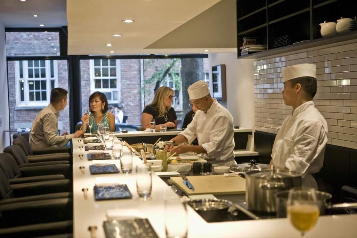 Sushi Nakazawa Harden, Sushi Nakazawa Dining Room Vs Bar