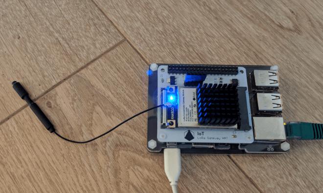LoRa Gateway on a Pi 3