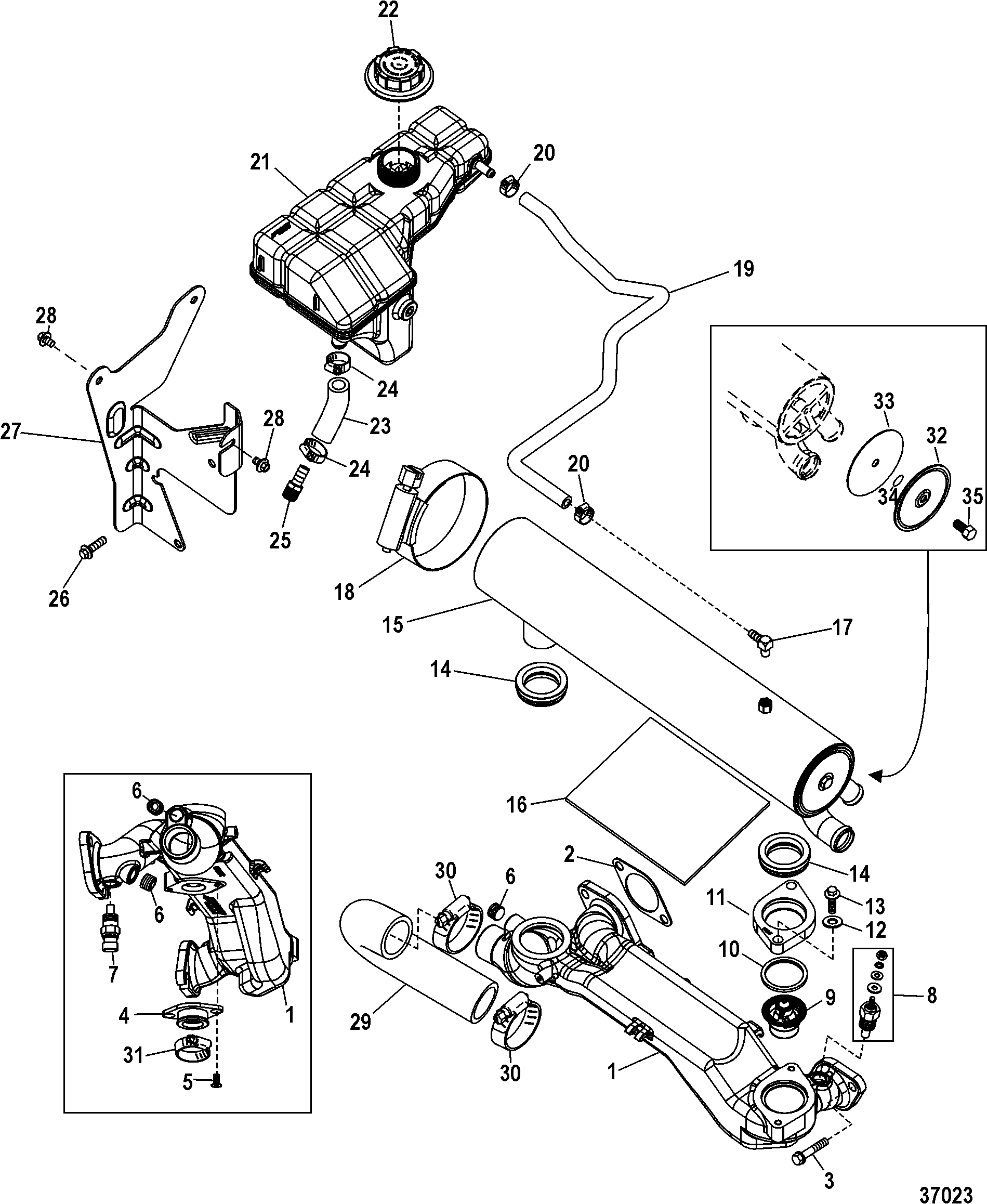 International Dt466 Coolant Temp Sensor Location