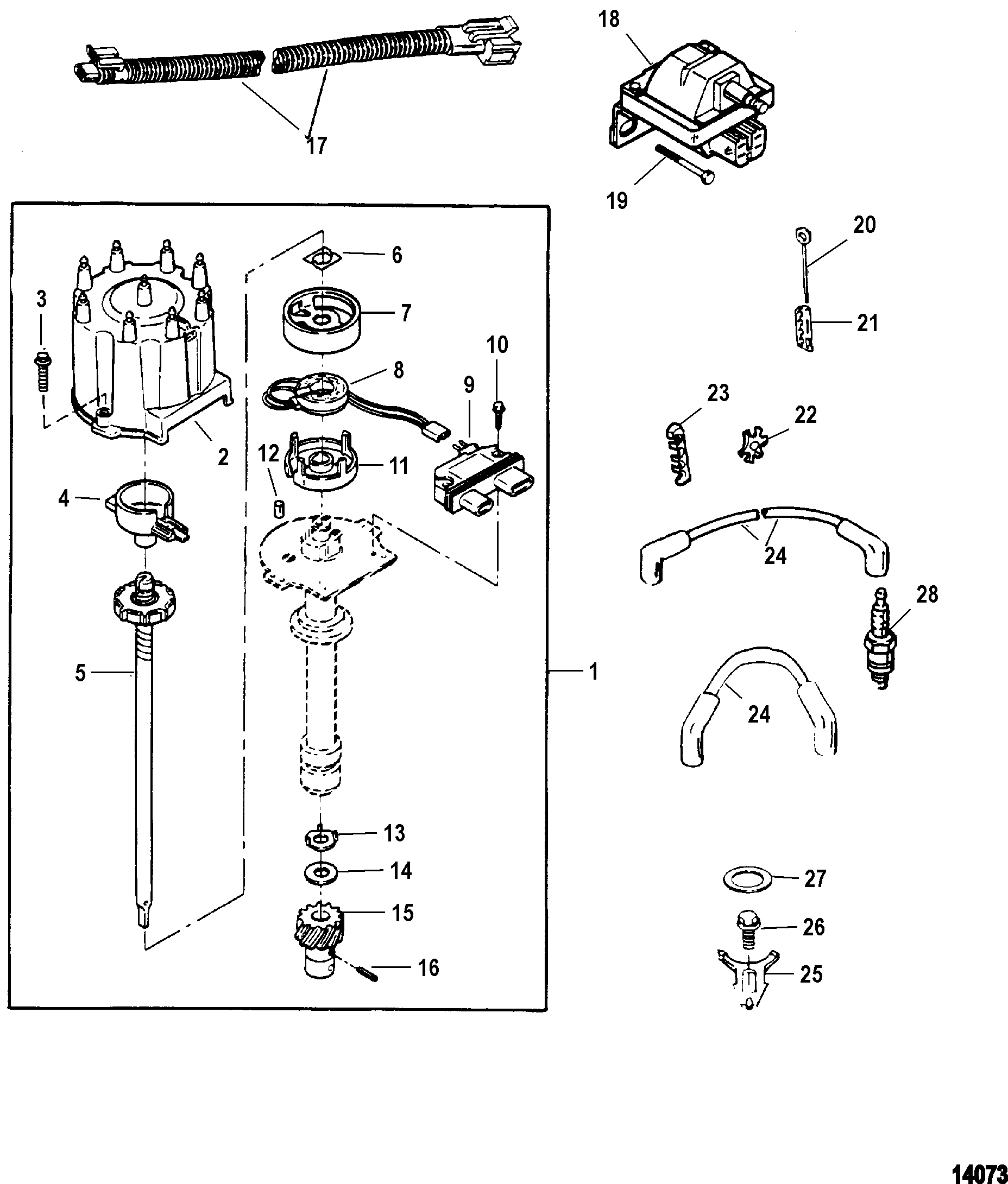 Mercruiser Ignition Coil Wiring Diagram