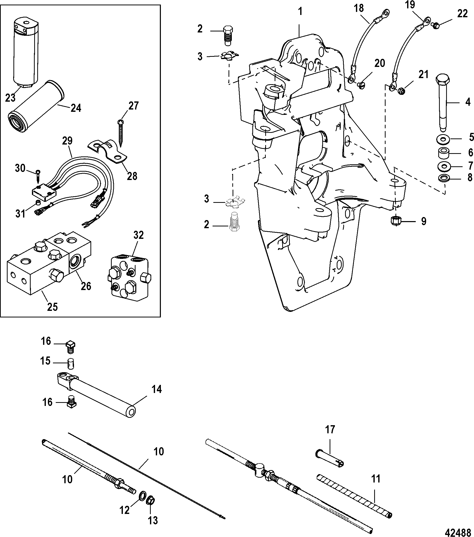 Mercury Mercruiser Bravo Sport Master Service Repair