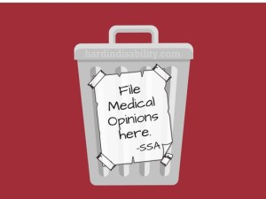 medical opinion ssa