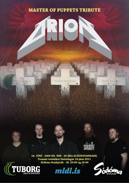Metallica - Master of Puppets Tribute (seinni tónleikarnir)