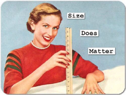 penis size does matter