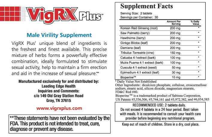 Vigrx Plus box