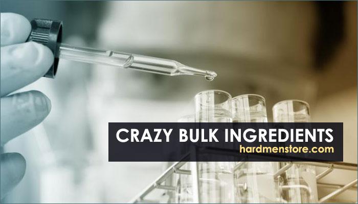 Crazy Bulk ingredients and formula