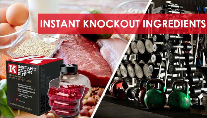 Ingredients in Instant Knockout Fat Burner
