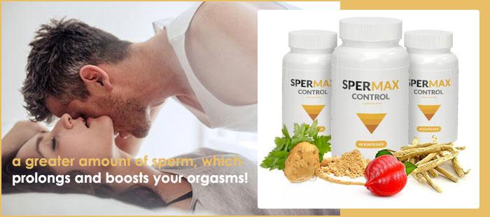 Spermax Control Ingredients