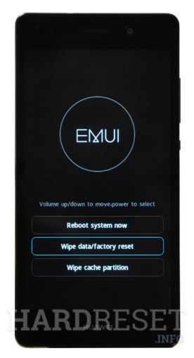 Factory Reset HUAWEI Honor 8 Lite