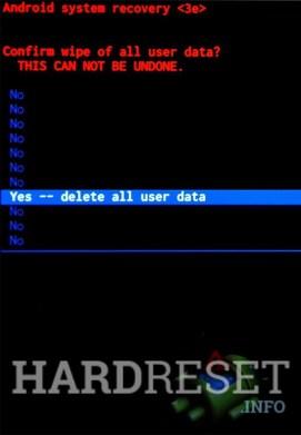 Wipe data SAMSUNG J530 Galaxy J5 2017