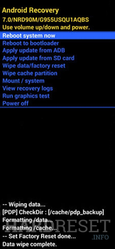 Recovery Mode SAMSUNG Galaxy S10 SD855